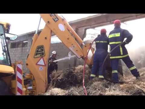 Έκτακτο: Φωτιά σε επιχείρηση ζωοτροφών στην Αργολίδα
