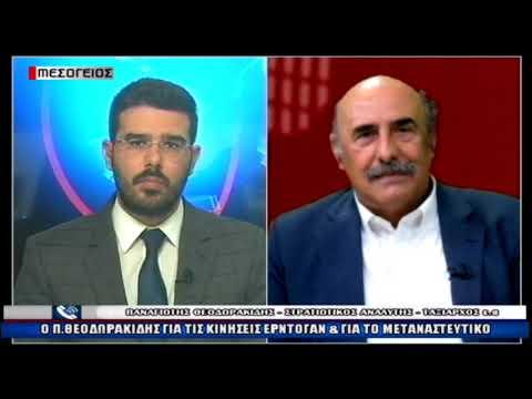 Ο Παναγιώτης Θεοδωρακίδης ταξίαρχος ε.α., πρώην Εκπρόσωπος Τύπου ΝΑΤΟ για τις τουρκικές προκλήσεις (video)